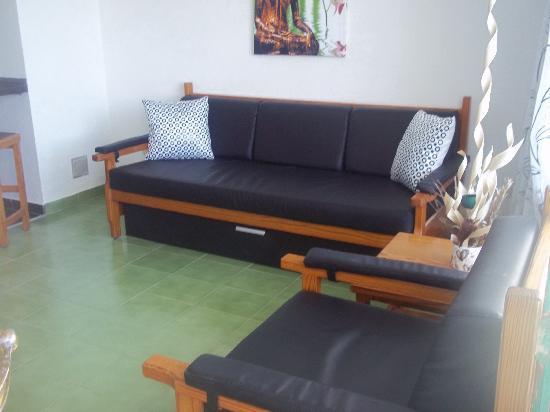 Apartamentos Aguycan Beach: Aguycan Beach salon