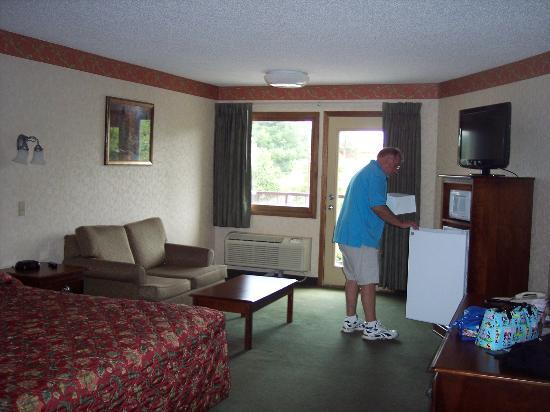 Park Tower Inn: King room