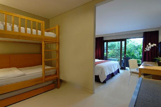 Bali Dynasty Resort : Family Garden View - Bunk Bed