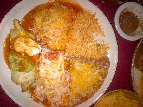 Mazatlan Mexican Restaurant: No.#16 Chimichunga,chili releno, tamale