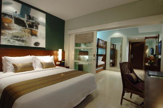 Bali Dynasty Resort : Family Studio Room