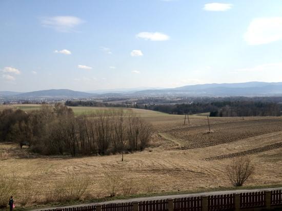 Wadowice, Polonia: widok z balkonu hotelu Radocza