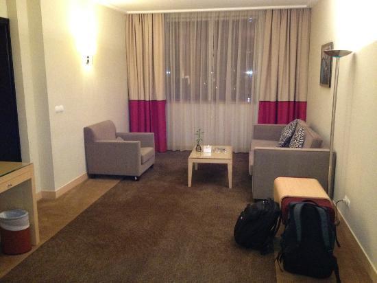 Novotel Al Anoud : Living Area