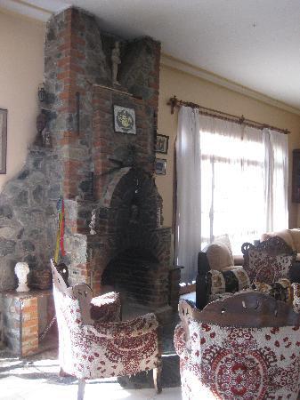 Villa Panaroma: the fire place