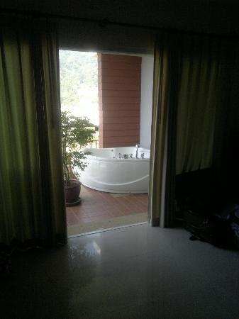 our spa on our balcony of APK Resort & Spa