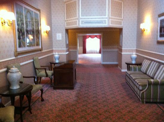 Disneyland Hotel: corridoio