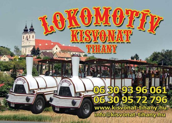 ‪Lokomotiv Kisvonat / Road Train Tihany‬