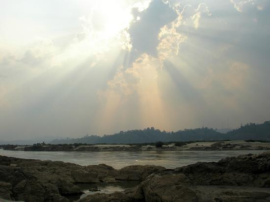 Agalin Villas: Simply magic - Mekong-Sunset.