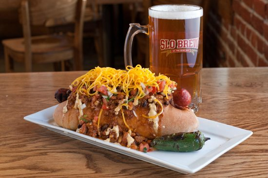 Slo Brew Company: The famous Desperado Dog