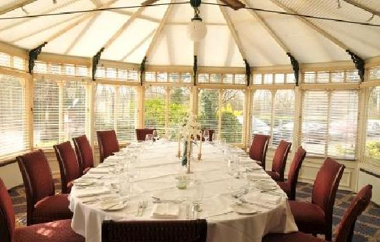 Etrop Grange: Conservatory (private dining)