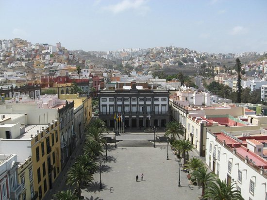Las Palmas de Gran Canaria, Spanien: View from the top of the cathedral tower