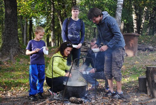 Camping Sigulda Beach: Soup