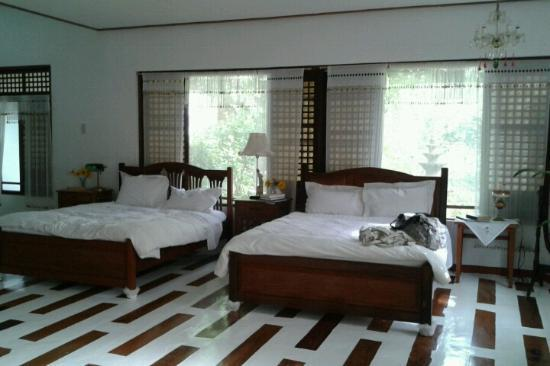 Alfonso, Philippines: two of the three beds
