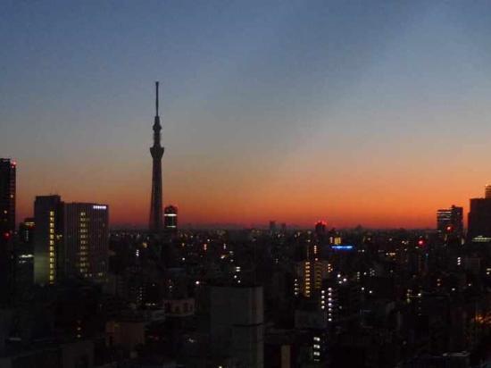 Viainn Akihabara: 朝の眺めも綺麗