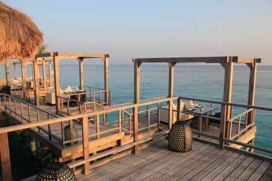 Jumeirah Vittaveli: fenesse restaurant