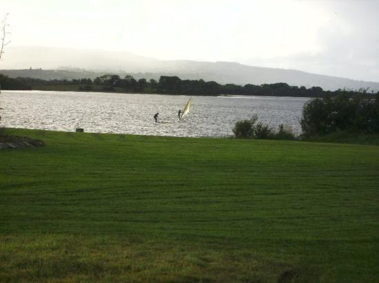 Lough Allen Hotel & Spa: The Lake Behind the hotel