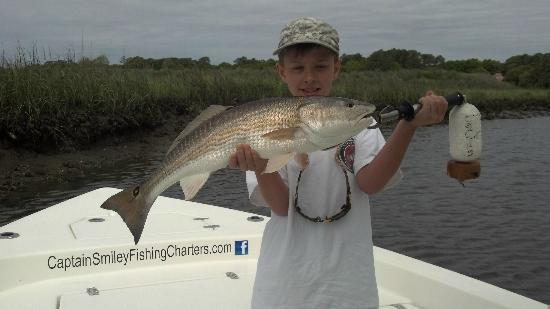 Captain Smiley Fishing Charters: Another photo of the big fish of the day.