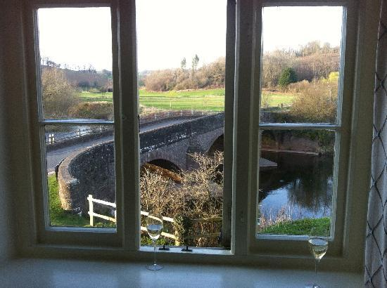 The Bell at Skenfrith: Gorgeous View From Window.