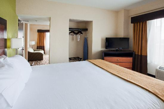 Holiday Inn Express & Suites Atlanta Downtown: King Executive Suite Bedroom