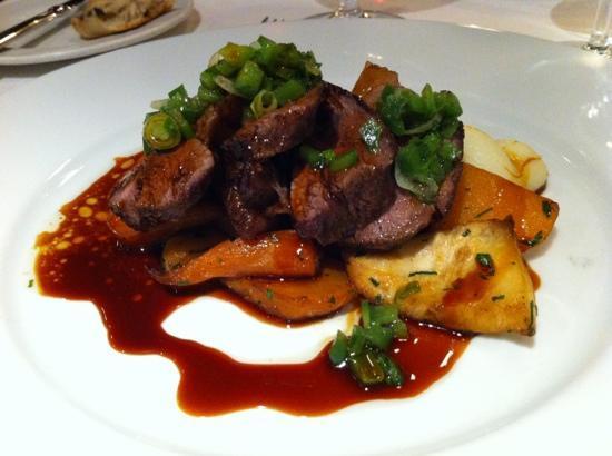 Bleeding Heart Restaurant: Rump of lamb