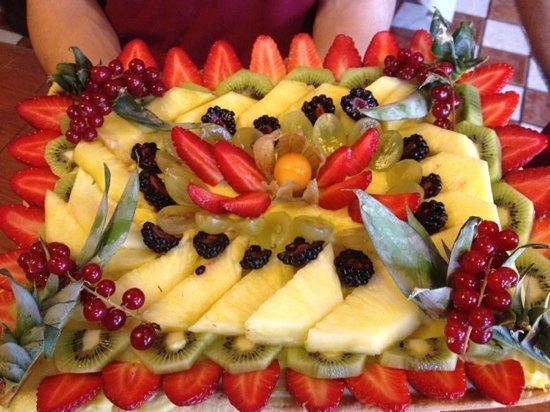 Il Pomodorino : crostata di frutta degli chefs