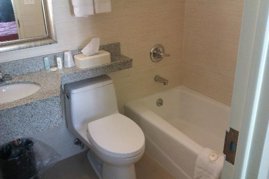 Comfort Inn LaGuardia Airport - 83rd St: Bathroom