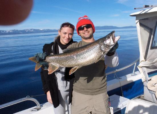 Beautiful morning on lake tahoe picture of tahoe sport for Tahoe sport fishing