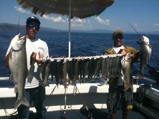 Fishing buddies picture of tahoe sport fishing south for Tahoe sport fishing
