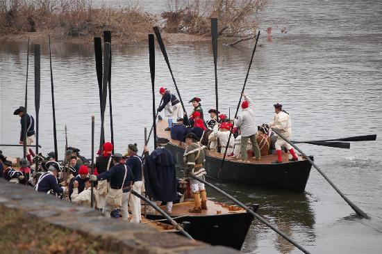 Bucks County, Πενσυλβάνια: Washington Crossing Historic Park