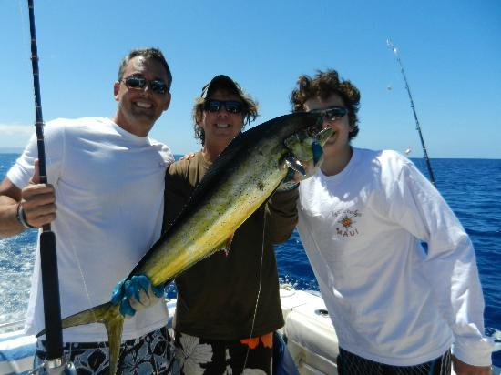 Captain Woody's: Caught a marlin!