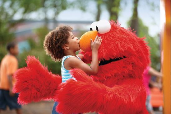 Bucks County, Pensilvanya: Sesame Place (TM/©2012 Sesame Workshop)
