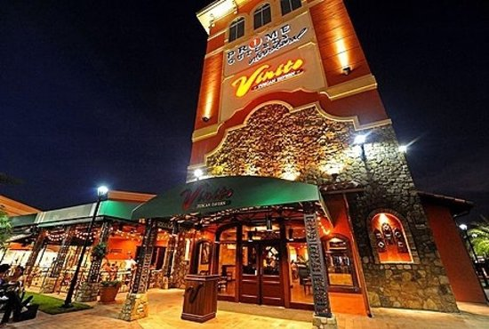 Vinito Ristorante At Prime Outlets Orlando Menu Prices