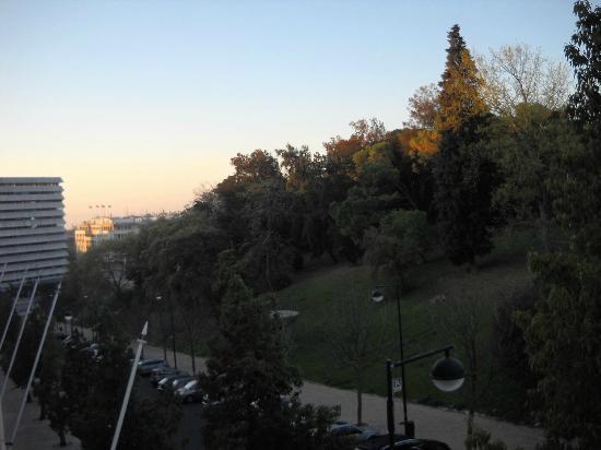 Hotel Miraparque: Vista desde la habitación