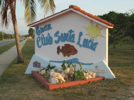 Grand Club Entrance Sign
