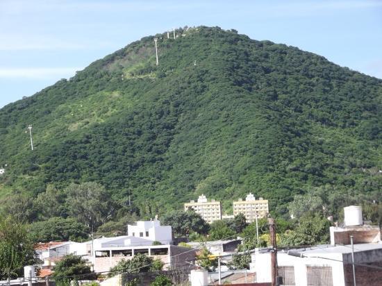 Hotel Iris: Cerro San Bernardo vue de la chambre 21