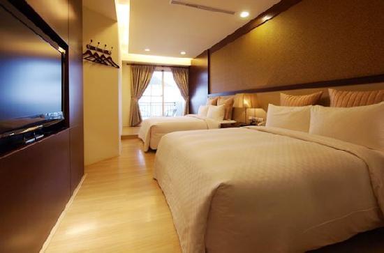 Hotel Golden Bay Kenting : 金沙灣面海四人房