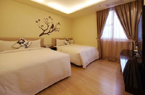 Hotel Golden Bay Kenting : 金沙灣精緻四人房