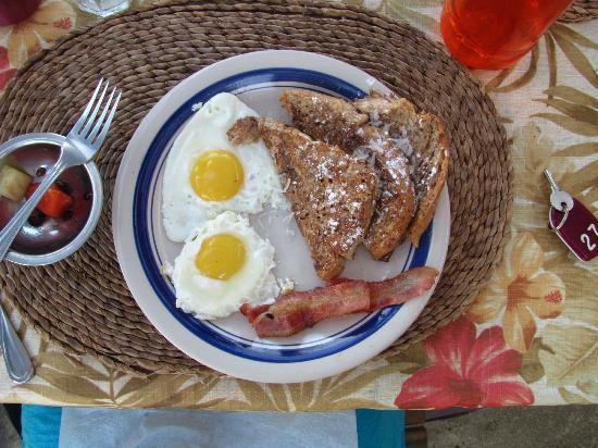 The Original House of Pancakes: Coconut french toast