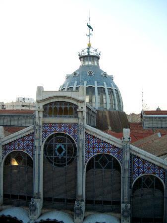 La Casa Azul: View from Room (floor 2)