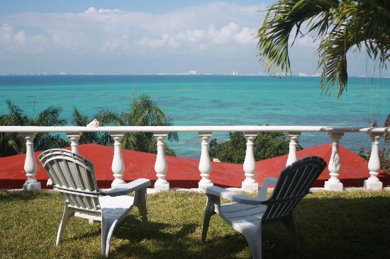 Hotel La Joya: View from room 6