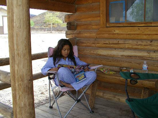 Superbe Calico Ghost Town: Relaxing At Cabin