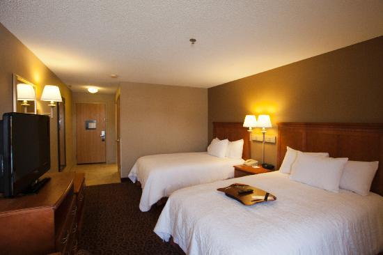 Hampton Inn Lincoln - Heritage Park: Double Room