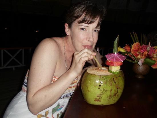 Coco Plum Island Resort: Coco Locos were amazing!