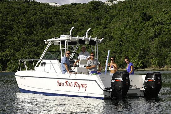Beachwalk Charters Two Fish Flying