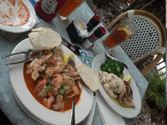 Dinner foto di red fish blue fish key west for Red fish blue fish key west