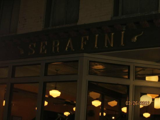 Serafini: nice big sign
