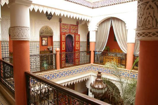 Riad Bleu Du Sud : 1er étage patio