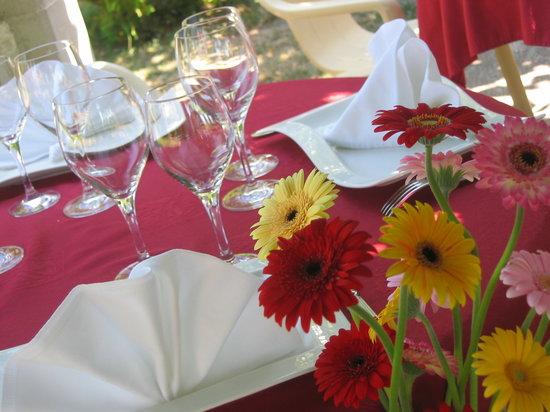L'Aramon Gourmand : Table soignée