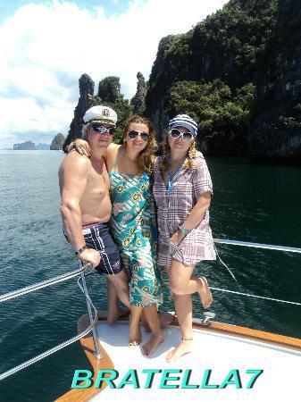 Yacht Charter Thailand: Моя семья