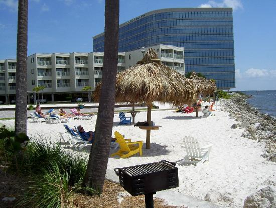 Lounging Beach Picture Of Sailport Waterfront Suites 2 Bedroom Hotels In Tampa  Florida
